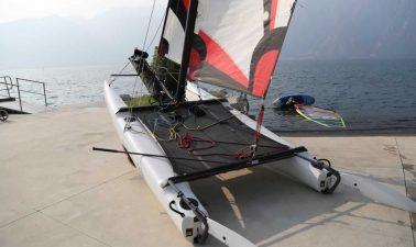 Catamarano armato Topaz 14